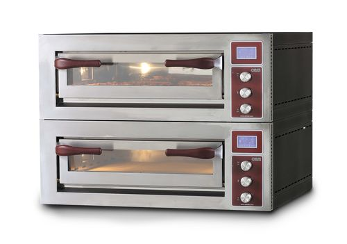Electric oven / commercial / pizza / 2-chamber PULSAR 435-2 OEM - Pizza System