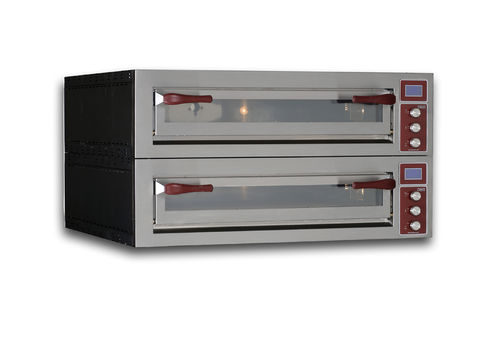Electric oven / professional / pizza / 2-chamber PULSAR 635L-2 OEM - Pizza System