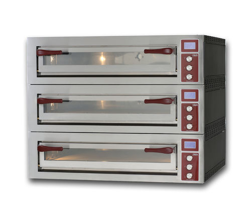Electric oven / commercial / pizza / 3-chamber PULSAR 635L-3 OEM - Pizza System