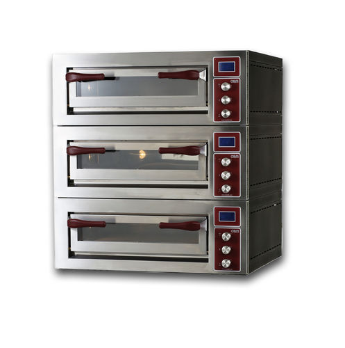Electric oven / commercial / pizza / 3-chamber PULSAR 635S-3 OEM - Pizza System