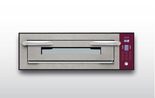 Commercial oven / electric / pizza / single-chamber OPTYMO CONCEPT: 435/1 CEMENT OEM - Pizza System