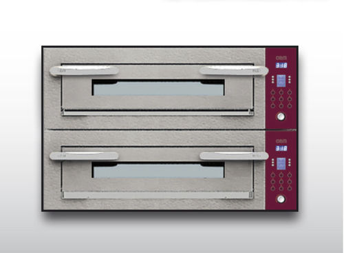 Electric oven / commercial / pizza / 2-chamber OPTYMO CONCEPT: 435/2 CEMENT OEM - Pizza System