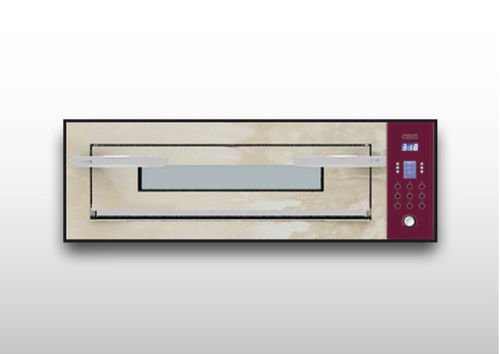 Commercial oven / electric / pizza / single-chamber OPTYMO CONCEPT: 435/1 ONYX OEM - Pizza System