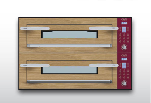 Electric oven / commercial / pizza / 2-chamber OPTYMO CONCEPT: 435/2 WOOD OEM - Pizza System