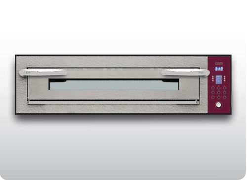Commercial oven / electric / pizza / single-chamber OPTYMO CONCEPT: 635L/1 CEMENT OEM - Pizza System