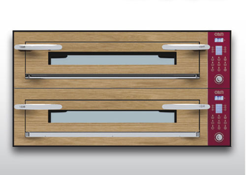 Electric oven / commercial / combi / 2-chamber OPTYMO CONCEPT: 635L/2 WOOD OEM - Pizza System