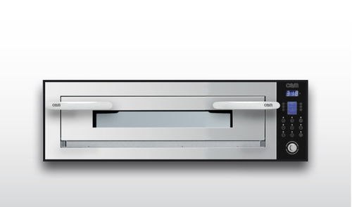 Commercial oven / electric / pizza / single-chamber OPTYMO CONCEPT: 635S/1 INOX OEM - Pizza System