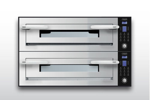 Electric oven / professional / combi / 2-chamber OPTYMO CONCEPT: 635S/2 INOX OEM - Pizza System