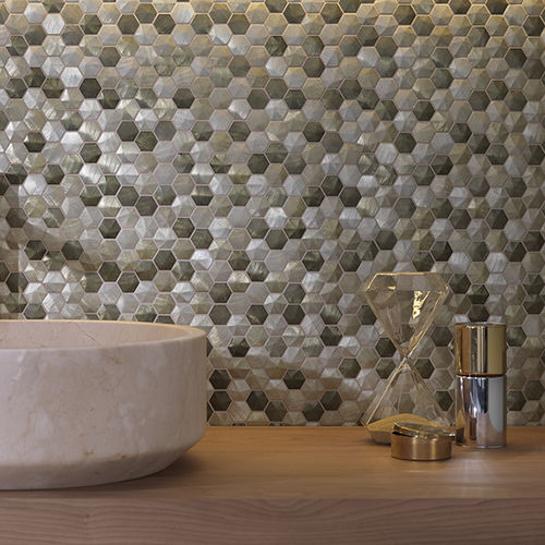 Indoor mosaic tile / wall / metal / matte COLORS L'ANTIC  COLONIAL by Porcelanosa