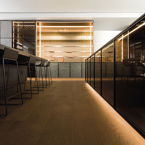 Engineered wood flooring / floating / oak / oiled AUTHENTIC 1L BRONZE L'ANTIC  COLONIAL by Porcelanosa