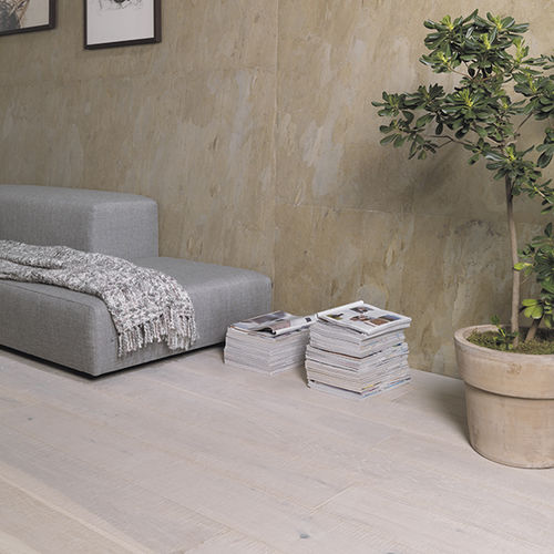 Engineered parquet flooring / glued / oak / aged ARTISAN 1L LINEN L'ANTIC  COLONIAL by Porcelanosa