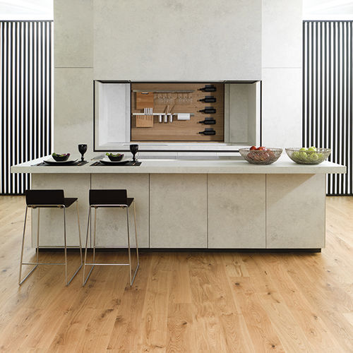 Engineered wood flooring / floating / oak / oiled ADVANCE 1L NATURAL L'ANTIC  COLONIAL by Porcelanosa