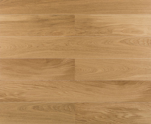 engineered parquet floor / floating / oak / satin