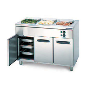 Heated Holding Cabinet With Bain Marie. PROFF : BM 1200 Hackman