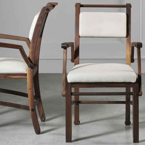 Traditional chair / with armrests / fabric / wooden CANALETTO L'OTTOCENTO