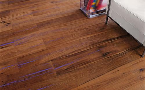 Engineered parquet flooring / oak / oiled / FSC-certified TIGER OAK CC MAFI