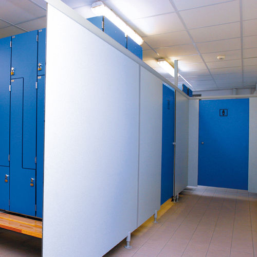 Fixed partition / laminate / sanitary / professional FRANCE EQUIPEMENT