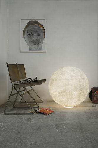 Floor lamp / contemporary / in Nebulite® / LED LUNA : MOON in-es artdesign