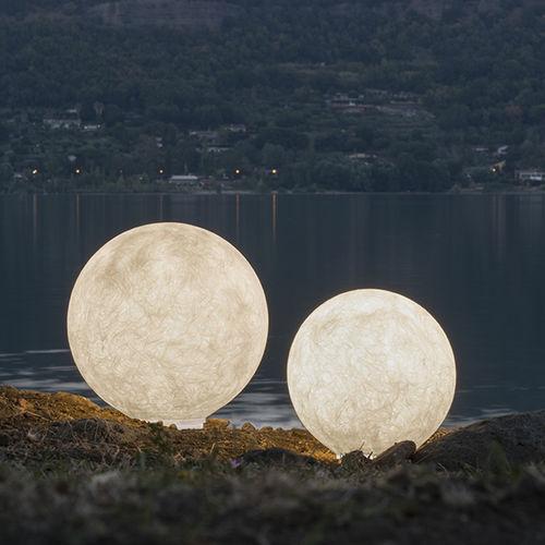 Floor lamp / contemporary / steel / Laprene® OUT: EX.MOON in-es artdesign