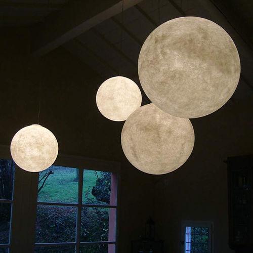 Pendant lamp / contemporary / steel / in Nebulite® LUNA in-es artdesign