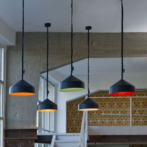 Pendant lamp / contemporary / in Nebulite® / nylon MATT : CYRCUS LAVAGNA in-es artdesign