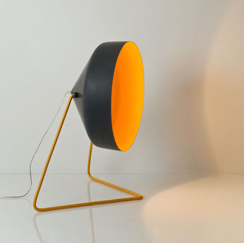 Floor lamp / contemporary / steel / in Nebulite® MATT : CYRCUS F LAVAGNA in-es artdesign