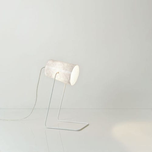 table lamp / contemporary / steel / in Nebulite®