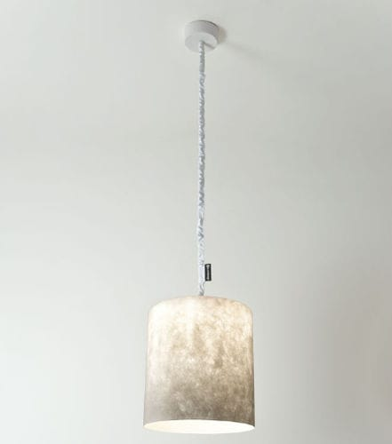 Pendant lamp / contemporary / in Nebulite® / nylon MATT : BIN NEBULA in-es artdesign