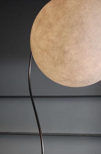 Floor-standing lamp / contemporary / cast iron / steel LUNA : LUNA PIANTANA in-es artdesign