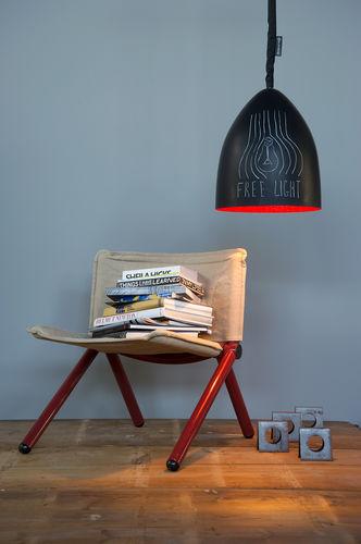 Pendant lamp / contemporary / in Nebulite® / nylon MATT : FLOWER S LAVAGNA in-es artdesign