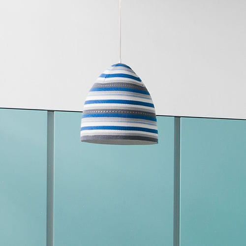 Pendant lamp / contemporary / in Nebulite® / wool TRAME : FLOWER STRIPE in-es artdesign