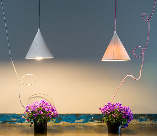 Pendant lamp / contemporary / LED / white BE.POP : POP 2 in-es artdesign