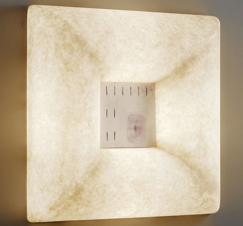 Contemporary wall light / canvas / steel / in Nebulite® LUNA : DADA LUNA in-es artdesign
