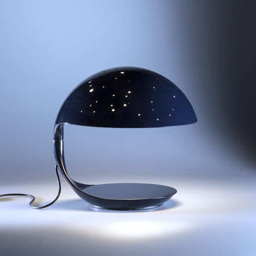 table lamp / original design / steel / painted aluminum