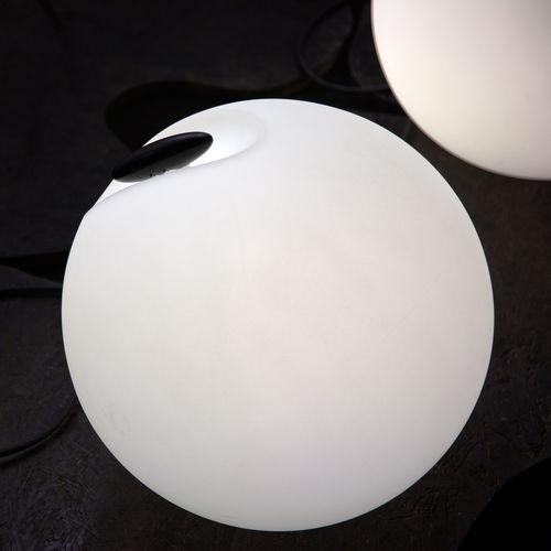 Floor lamp / contemporary / polyethylene / garden BOWL cod.812 by Serge&Robert Cornelissen 2011 Martinelli Luce Spa