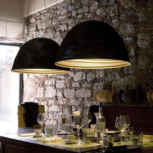 Pendant lamp / original design / aluminum BABELE cod.2040 Martinelli Luce Spa