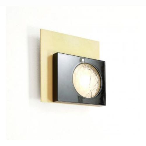 contemporary wall light / wood / polycarbonate / LED