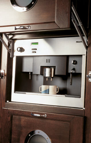 combined coffee machine / automatic / built-in