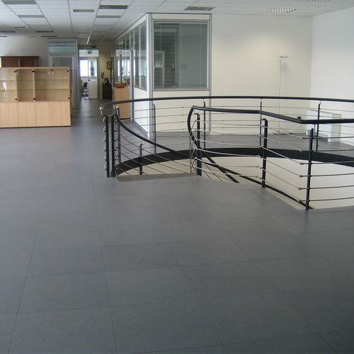 high-pressure laminate raised access floor / anti-static / indoor
