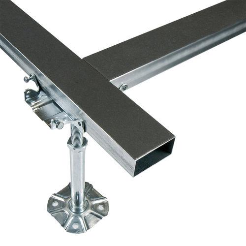 metal raised access floor support / indoor