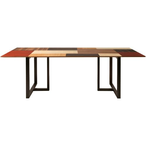 contemporary table / walnut / cherrywood / maple