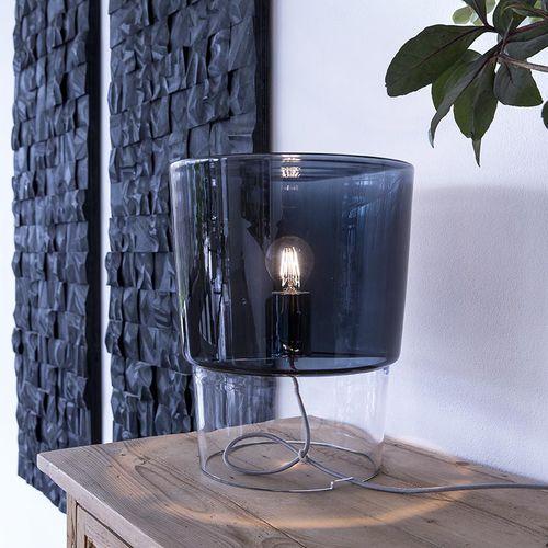 Table lamp / contemporary / blown glass / white VESTALE PRANDINA