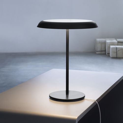 table lamp / contemporary / methacrylate / opal