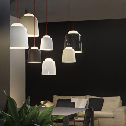 Pendant lamp / contemporary / blown glass / metal TEODORA PRANDINA