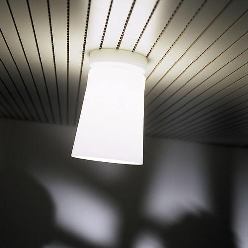 Contemporary ceiling light / glass / blown glass / halogen FINLAND PRANDINA