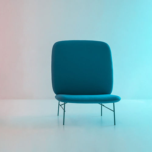 contemporary fireside chair - Tacchini