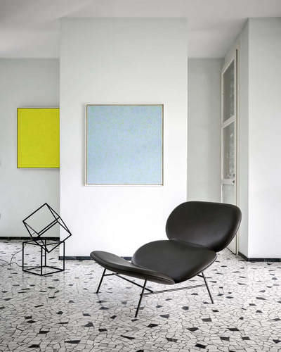 contemporary chaise longue - Tacchini