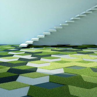 carpet tile / tufted / shag / polyamide