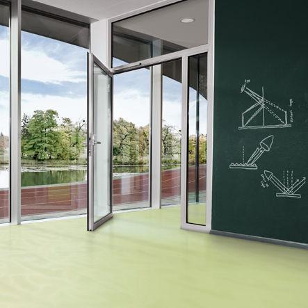 polyurethane flooring / residential / tertiary / roll
