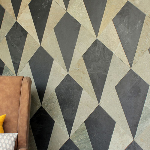 indoor tile / wall / slate / geometric pattern